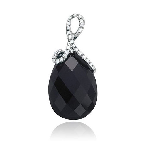 Diamond Onyx Pendant