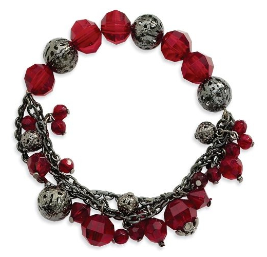 Ruby Stretch Bracelet